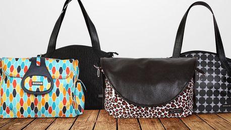 Přebalovací tašky plné praktických vychytávek
