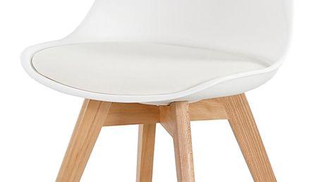 Jídelní židle BORKUM white