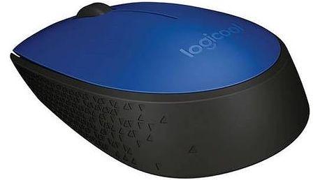 Myš Logitech Wireless Mouse M171 (910-004640) modrá