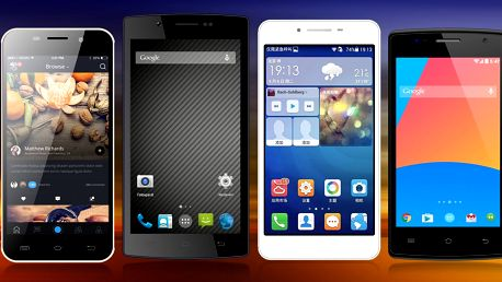 Mobilní telefony značky CUBE1 na dvě SIM