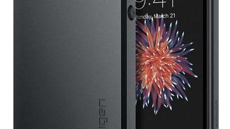 Pouzdro Spigen Slim Armor iPhone SE / 5s / 5 gunmetal Černá