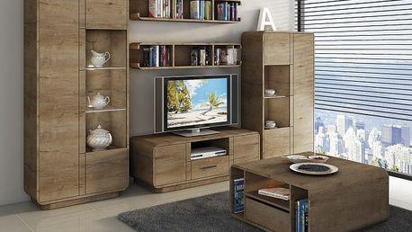 Acerro - Obývací stěna (dub lefkas)