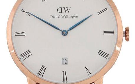 Pánské hodinky ve zlaté barvě DAPPER St. Mawes Daniel Wellington