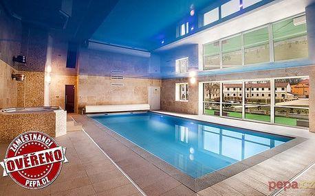 3denní přepychový wellness pobyt s polopenzí pro 2 v Hotelu Lions Nesuchyně