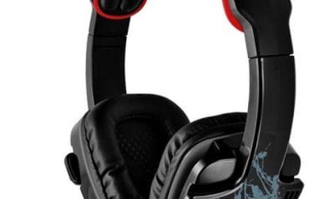 Headset Trust GXT 340 7.1 Surround (19116) černý/červený