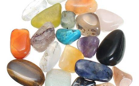 Sada dekorativních kamínků - 20 ks