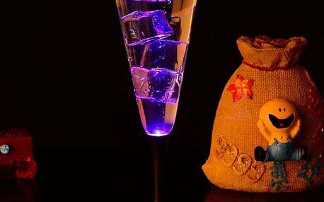 Indukční LED pohár na šampaňské