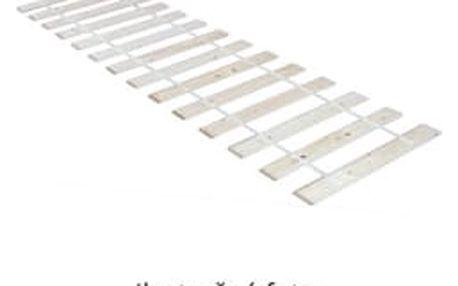 TEMPO KONDELA rolovaný rošt 160x200 cm