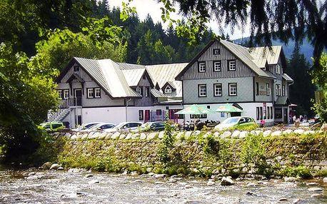 3–5denní pobyt pro 2 v hotelu Hradec ve Špindlerově Mlýně