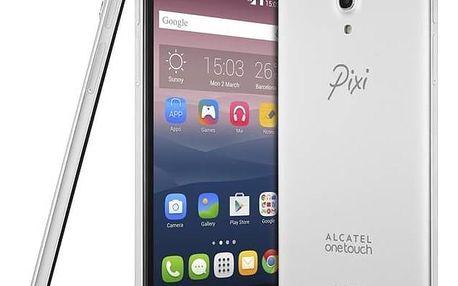 Mobilní telefon ALCATEL PIXI 4 (6) 8050D HD (8050D-2BALE14) stříbrný SIM s kreditem T-Mobile 200Kč Twist Online Internet (zdarma)Software F-Secure SAFE 6 měsíců pro 3 zařízení (zdarma) + Doprava zdarma