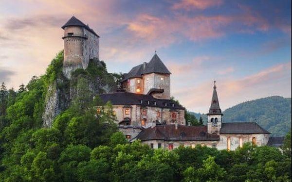 Turistika, aquapark a hory. Skvělý celoroční pobyt bez stravy v penzionu Orava