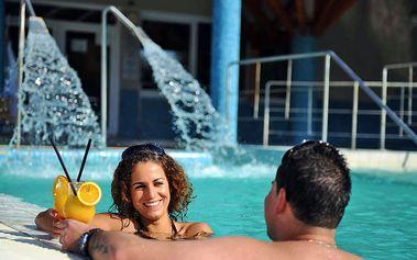 Egerszalók pro DVA s termálními bazény neomezeně, polopenzí a vstupem do lázní