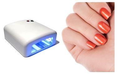 UV lampa na gelové nehty pro domácí použití