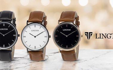 Elegantní minimalistické hodinky Lington