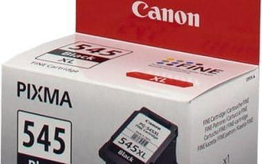 Inkoustová náplň Canon PG-545XL - originální (8286B001) černá originální