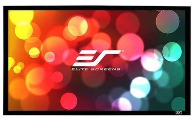 """Elite Screens plátno v pevném rámu CINEMA Scope 138"""" (350,5 cm)/ 2,35:1 / 137,2 x 322,3 cm - R138WH1-Wide"""