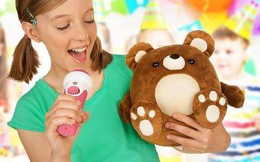 Zpívající zvířátko s mikrofonem