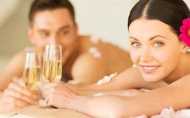 Párová relaxační masáž vč. sektu