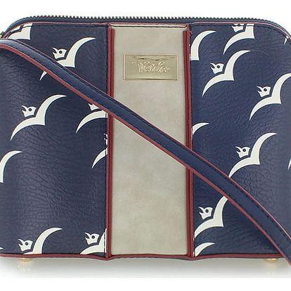 Tmavě modrá kabelka White Gulls