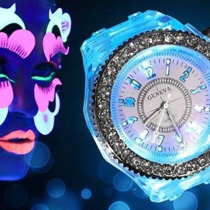 Dámské svítící hodinky značky GENEVA