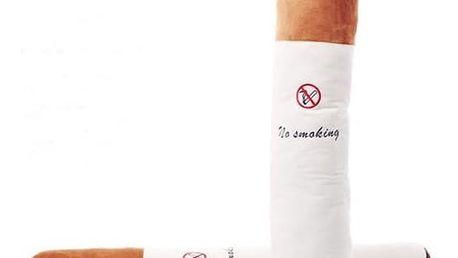Polštář ve tvaru cigarety