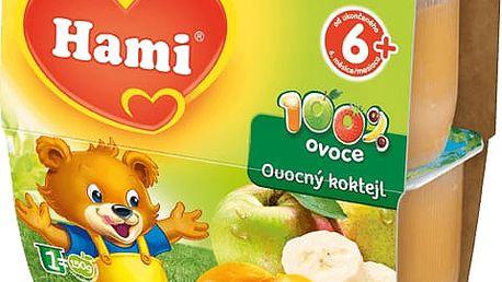 EXPIRACE 12. 07. 2017: HAMI 100 % Ovoce ovocný koktejl (4x100g) - ovocný příkrm