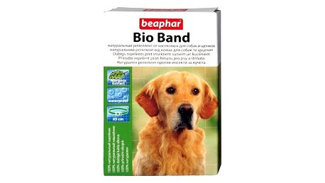 Antiparazitní obojek Beaphar Bio Band přírodní pro psy