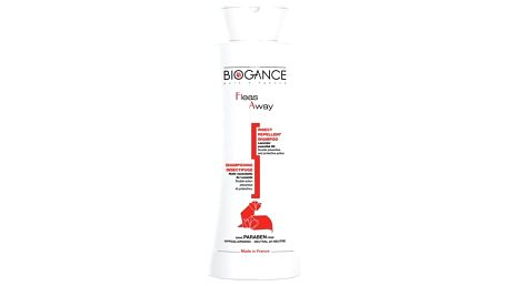 Šampon Biogance Fleas away cat - antiparazitní 250 ml