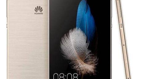 Mobilní telefon Huawei P8 Lite DS (SP-P8LITEDSGOM) zlatý SIM s kreditem T-Mobile 200Kč Twist Online Internet (zdarma)Software F-Secure SAFE 6 měsíců pro 3 zařízení (zdarma) + Doprava zdarma