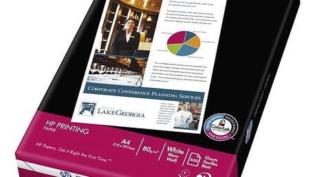 Papíry do tiskárny HP Printing, A4, 500 listů, 80 g/m2 (CHP210) bílý