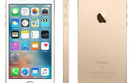 Mobilní telefon Apple 16 GB - Gold (MLXM2CS/A)