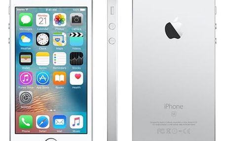 Mobilní telefon Apple 16 GB - Silver (MLLP2CS/A)