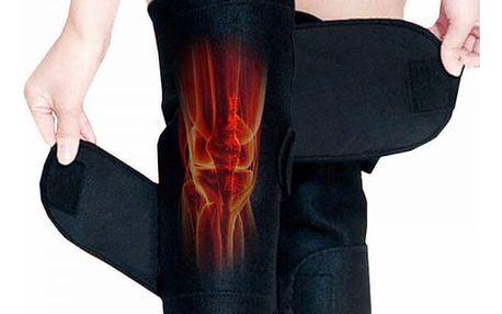 Samozahřívací podpora kolena s turmalínem