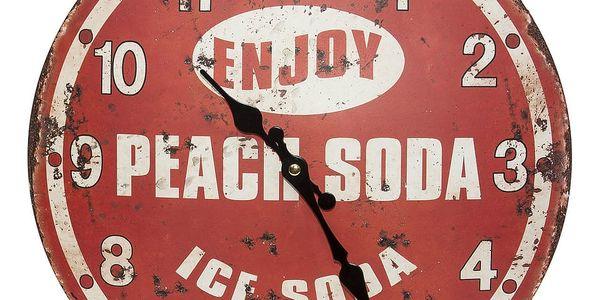 Nástěnné hodiny Novita Ice Soda