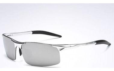 Pánské sluneční brýle s kovovým rámováním