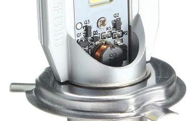 Přední LED světlo na motorku - H4
