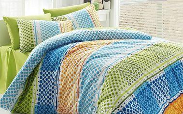 Tip Trade Bavlněné povlečení Fashion Green, 140 x 200 cm, 70 x 90 cm