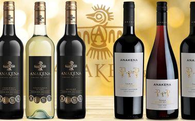 Šest lahví lahodných vín z Chile