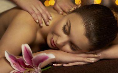 Celková masáž s aromaterapií v délce 60 minut