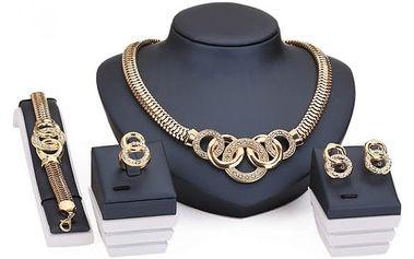 Sada šperků luxusního designu
