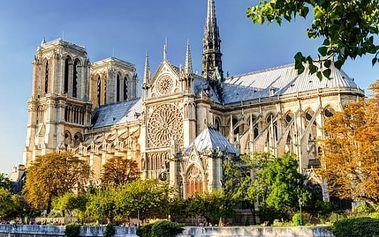 Paříž, Versailles a Remeš: 5denní zájezd z Prahy pro 1 osobu s 2x ubytováním a snídaní