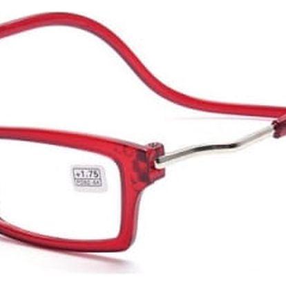 Dioptrické brýle na čtení s magnetickými rámečky