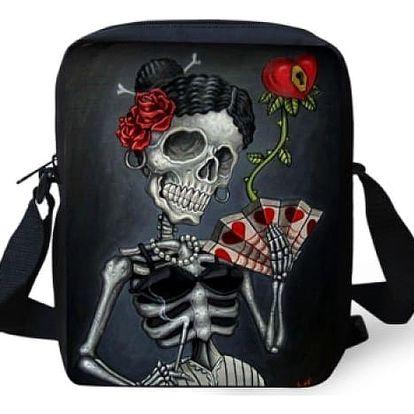 Punková mini taška přes rameno - 33 variant