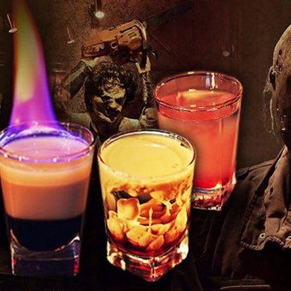 Dva shoty v hororovém baru Nightmare Prague