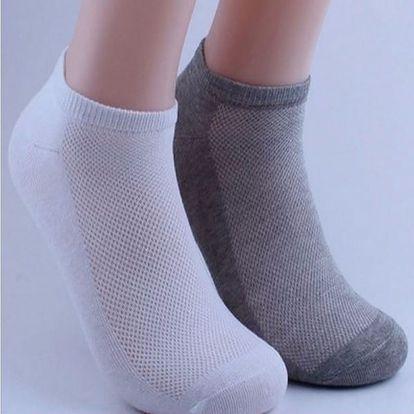 Pánské ponožky kotníkové - 10 párů