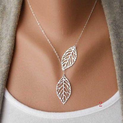 Dámský náhrdelník - mix tvarů