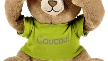 PIOUPIOU MERVEILLES Interaktivní medvídek Coucou