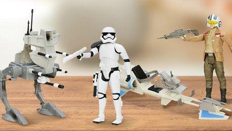 Temná strana se probouzí: Sady s figurkami z oficiální kolekce Star Wars