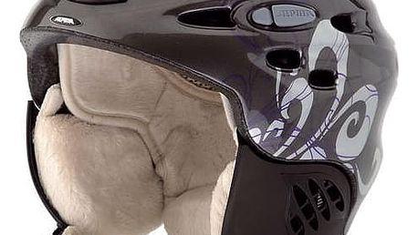 Dámská lyžařská helma Alpina Scara, 52-56, šedo fialová
