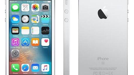 Mobilní telefon Apple 128 GB - Silver (MP872CS/A)